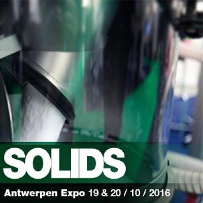 Lessine vous donne rendez-vous à Solids Anvers du 19 au 20 octobre 2016 - Stand G4480